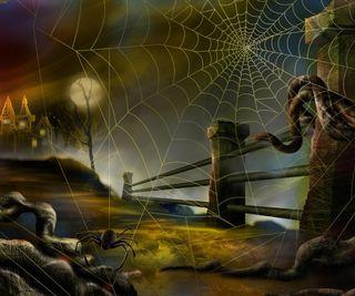 Обои на телефон жуткие, хэллоуин, фон, темные, паук, halloween background