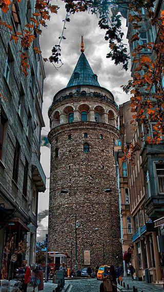 Обои на телефон португалия, стамбул, средний, париж, здания, замок, башня, башни, dame, castles, casa