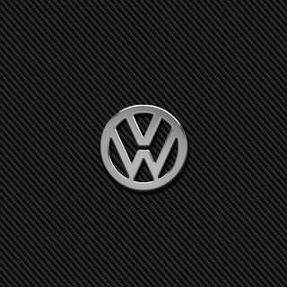 Обои на телефон эмблемы, хром, фольксваген, логотипы, карбон, значок, vw chrome carbon, vw, volkswagen