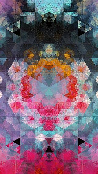 Обои на телефон треугольники, арт, абстрактные, art