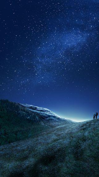 Обои на телефон сумерки, небо, звезды, айфон, twilight iphone wallpaper