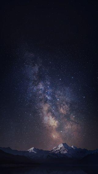 Обои на телефон туманность, телефон, оригинальные, ночь, небо, звезды, звезда, галактика, zte nebula, plus, galaxy