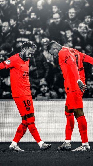 Обои на телефон псж, неймар, мбаппе, kylian mbappe neymar