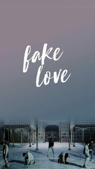 Обои на телефон поп, бтс, любовь, fake love, bts
