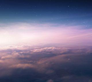 Обои на телефон небо, космос, звезды, галактика, galaxy s3, galaxy nexus, beyond sky