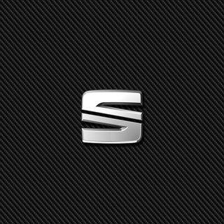 Обои на телефон эмблемы, сеат, логотипы, карбон, значок, seat carbon
