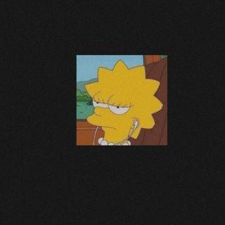 Обои на телефон лиза, симпсоны, грустные, lisa simpsons