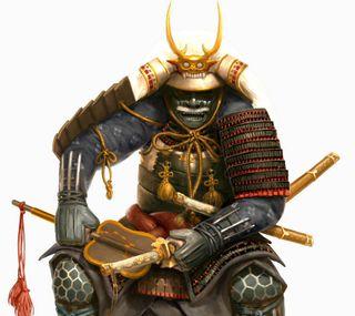 Обои на телефон самурай, японские