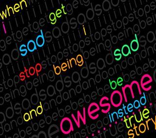 Обои на телефон стоп, цитата, классные, история, грустные, будь, note, depress, be awesome