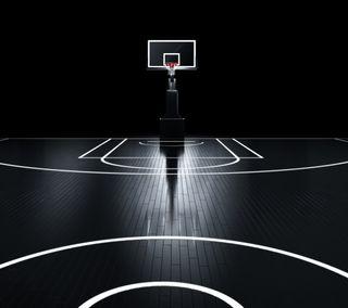 Обои на телефон чистые, баскетбол, черные