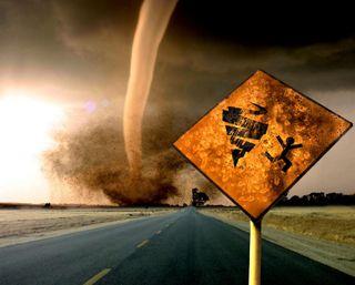 Обои на телефон опасные, шторм, знаки, забавные, дорога, storm sign