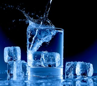 Обои на телефон холод, синие, лед, кубы, вода, water blue, ice cubes glas, ice cold, abtsract