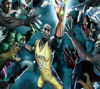 Обои на телефон супергерои, спортивные, нба, мультфильмы, игра, баскетбол, анимационные, nba superheroes, nba