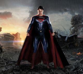 Обои на телефон стальные, фильмы, супермен