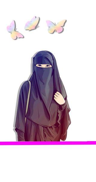 Обои на телефон мусульманские, девушки, niqab, muslim girls / niqab