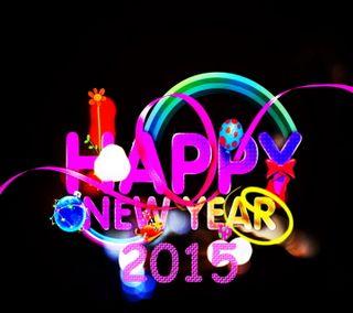 Обои на телефон счастливые, новый, год, hny 2015, happy, 2015