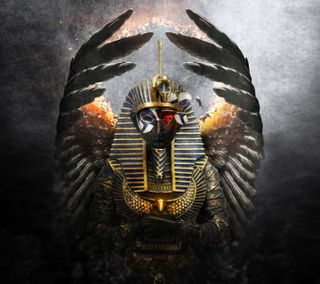Обои на телефон ястреб, сокол, египетский, египет, бог, mythology, myth, horus, ankh