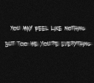 Обои на телефон чувствовать, текст, любовь, высказывания, love, everything
