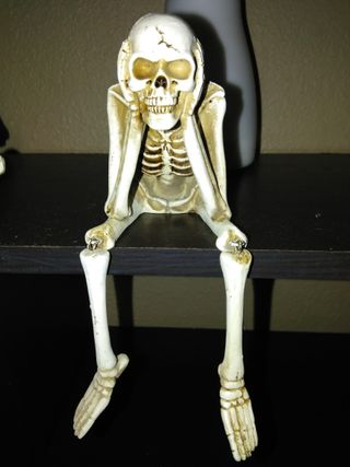 Обои на телефон скелет, кости, ugh