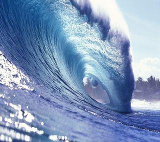 Обои на телефон океан, волна