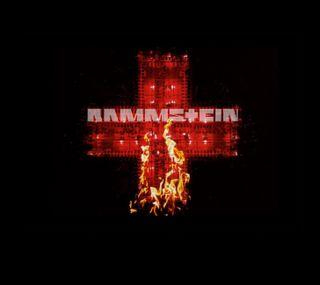 Обои на телефон крест, rammstein