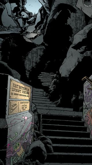Обои на телефон холм, ужасы, родригес, лавкрафт, комиксы, батарея, east battery 13