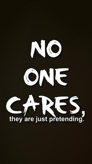 Обои на телефон цитата, поговорка, новый, крутые, знаки, pretending, one, no, cares