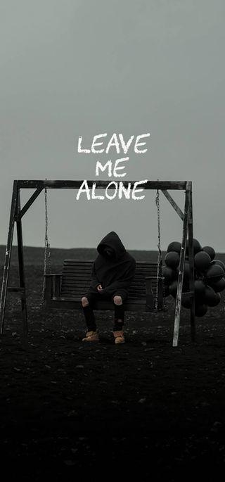 Обои на телефон я, покинуть, одиночество, nf leave me alone, nf, leave me alone