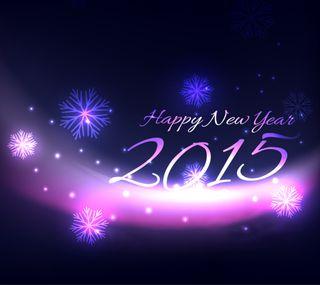 Обои на телефон счастливые, снег, светящиеся, праздновать, новый, дизайн, год, new year 2015, january, happy, 2015