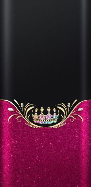 Обои на телефон корона, симпатичные, сверкающие, красочные, золотые, девчачие, блестящие, crowned