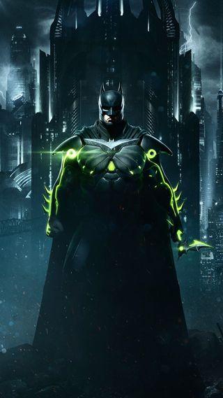 Обои на телефон пс4, несправедливость, бэтмен, xboxone, ps4, batman injustice 2