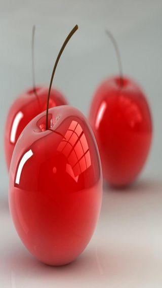 Обои на телефон вишня, прекрасные, красые, абстрактные, 3д, 3d