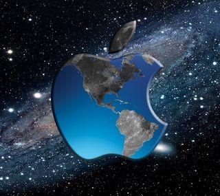Обои на телефон эпл, мир, логотипы, apple