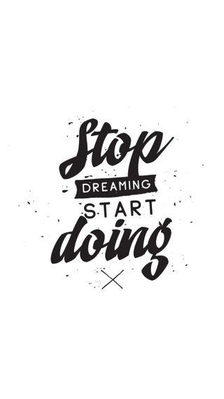Обои на телефон стоп, цитата, поговорка, мотивационные, stop dreaming