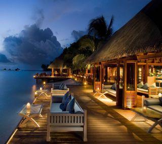 Обои на телефон море, курорт, sea resort, nexus