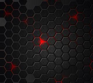 Обои на телефон шестиугольники, формы, шаблон, текстуры, абстрактные, hex