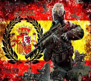 Обои на телефон корона, флаг, спа, испания, viktor904, militar, hummer, fuerzas armadas spa, espanol