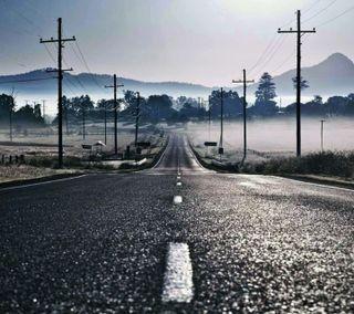 Обои на телефон путь, улица, свобода, природа, дорога, длинный, десерт, деревья, горы, высокий, long road, high way, free way