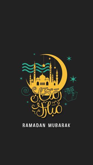 Обои на телефон черные, темные, рамадан, мусульманские, мубарак, ислам, арабские, аллах, 2018