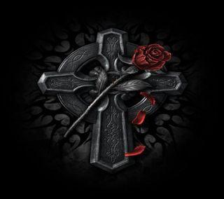 Обои на телефон террор, siniestros, gotico, espiritual, cruz 002