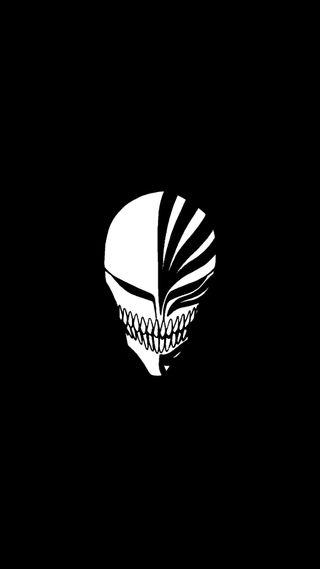 Обои на телефон блич, темные, смерть, маска, ичиго, ichigo hollow mask24, dark death 2024, bleach ichigo hollow mask
