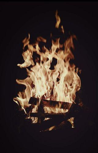 Обои на телефон черные, приятные, огонь, ночь, великий, wow, great fire in night