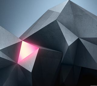 Обои на телефон треугольник, абстрактные
