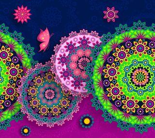 Обои на телефон цветочные, шаблон, красочные, восточные, бесшовные, абстрактные, patterm, arabesque