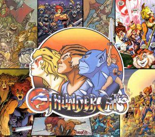 Обои на телефон гром, мультфильмы, коты, thunder cats, 1985