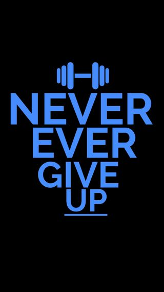 Обои на телефон цитата, спортзал, никогда, мотивация, вдохновение, up, give, ever