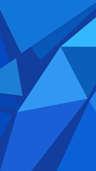 Обои на телефон треугольники, хуавей, стандартные, синие, м2, абстрактные, mediapad m2, huawei m2, huawei, 1080p