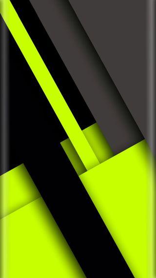 Обои на телефон грани, черные, стиль, серые, неоновые, зеленые, абстрактные, s8, s7, edge style