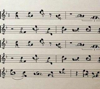 Обои на телефон шутка, песня, музыка, любовь, забавные, the love song, sheet, note, love