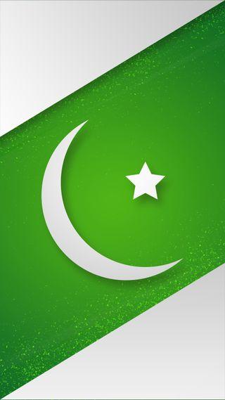 Обои на телефон пакистан, флаг, зеленые, звезда, белые, август, crecent, 14